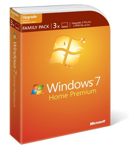 windows 7 family pack - Windows 7 completa um ano de vida