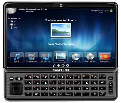 5231370233 fb5b1d217e - Samsung desvela uma tablet com teclado integrado e Windows 7.