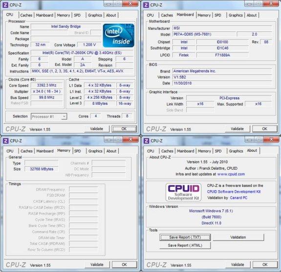 msi sandy bridge 32gb support - Sandy Bridge suportará até 32GB de DDR3.