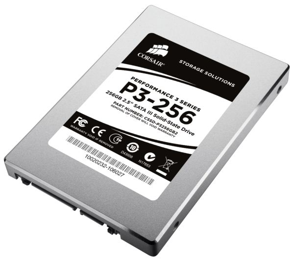 Corsair Performance3 SSD SATA3 - Corsair anuncia seus SSD Performance 3 SATA 6.0Gbps - #CES2011.