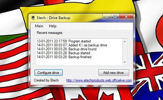 DriveBackup 1 - Drive Backup – Backups sempre em dia