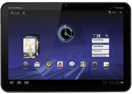 motorolaxoom01 - Motorola desvela seu tablet Xoom com Android 3.0 - #CES2011