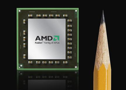 AMD APUs - AMD aumenta seus pedidos de APUs de 40nm