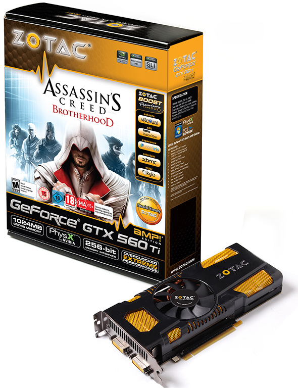 GeForce GTX 560 Ti AMP Edition - Zotac Lança GeForce GTX 560 Ti AMP! Edition