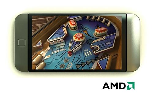 amd imageon 3d game concept lowres sm - AMD não tem planos de entrar ao mercado smartphone