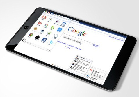 """500x tablet chrome - Google já trabalha com LG para lançar o """"Nexus tablet"""""""
