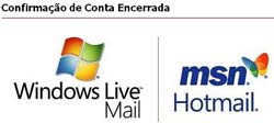 Tutorial como excluir uma conta do MSN Hotmail