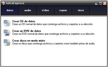 infrarecorder - 14 programas gratuitos para gravar CDs e DVDs.