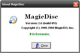 magicdisc - Programa para montar imagens iso nrg bin cue mdf mds