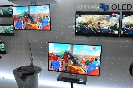 LG fará telas OLED de 55 polegadas em 2012