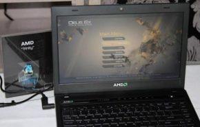 Demonstração da APU AMD Trinity para notebooks