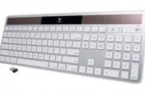 Logitech mostra teclado solar sem cabos