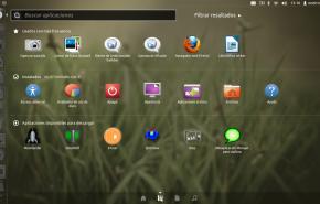 Dash aplicaciones 290x185 - Já esta disponível o novo Ubuntu 11.10