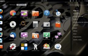 Gnome shell 290x185 - Já esta disponível o novo Ubuntu 11.10