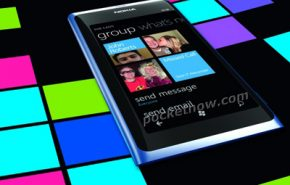 Imagem oficial do Nokia N800 com Windows Phone