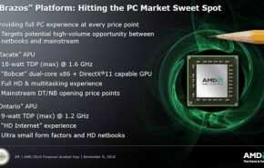 AMD atrasa seus netbooks ULV