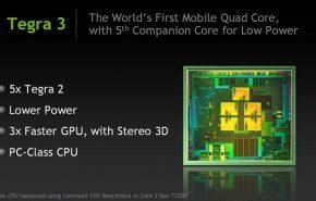 Nvidia Tegra 3 vs Apple A5: Rendimento gráfico