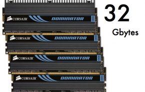 Corsair lança kits DDR3 Dominator e Vengeance de 32 Gbytes
