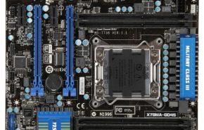 msi X79magd45 1 290x185 - MSI terá placa X79 mATX