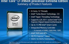 Intel apresenta os Sandy Bridge-E Core i7-3960X para LGA2011