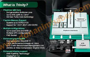 Possível rendimento das APU Trinity