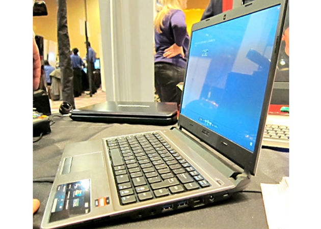 AMDUltrabook1 - AMD mostra seu próprio ultrabook sob APU Trinity - CES 2012
