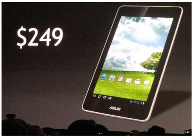 ASUSTablet - [CES 2012] ASUS romperá o mercado com um tablet Tegra 3 a 249 dólares
