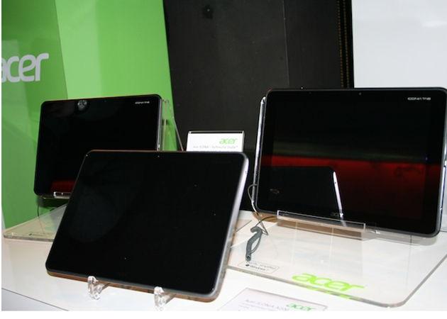 TabletAcerTegra3 - Disponibilidade e preço dos tablets Acer Iconia com Tegra 3.