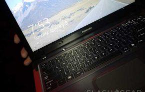 [CES 2012] Ultrabook da Toshiba com Windows 8