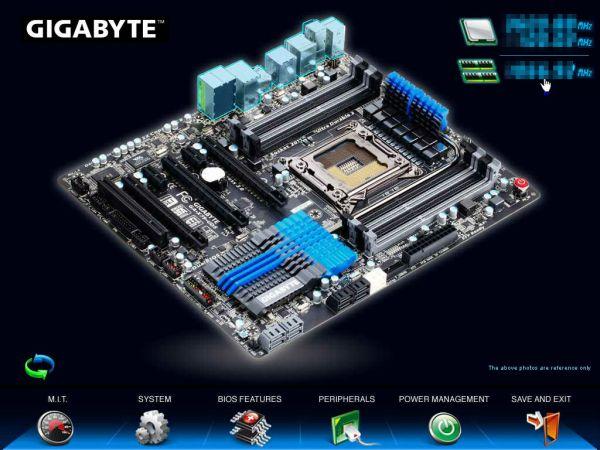 X79 3D BIOS 03 575px - GIGABYTE desvela sua nova geração de placas no CES 2012