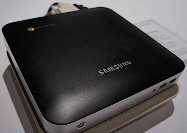 chromebox 2 - Samsung apresenta seus novos Chromebooks - CES 2012