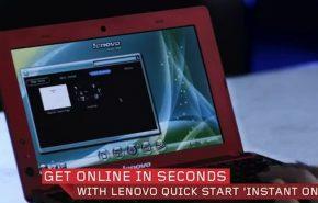 Netbook Lenovo IdeaPad S110 com Atom Cedar Trail
