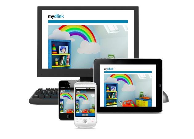 mydlink - D-Link mostra seu aposta pela nuvem com D-Link Cloud - CES 2012