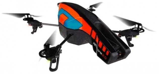 parrot ardrone 2 630x296 - [CES 2012] Parrot AR.Drone 2.0, agora com câmara HD