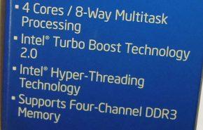 O CPU Intel Core i7-3820 socket LGA2011 já está disponível no Japão