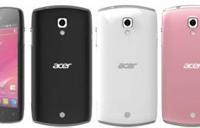 Acer apresenta seu novo smartphone Liquid Glow com Android 4.0