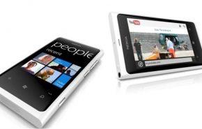 Novo celular Nokia Lumia 800 branco