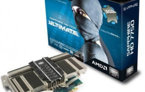 Sapphire mostra sua HD 7750 com refrigeração passiva