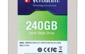 Verbatim lança seus novos SSDs SATA 3.