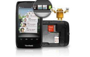 viewsonic viewpad dual sim 290x185 - ViewSonic apresenta novos smartphones com Android e dual SIM
