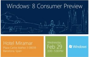 O Windows 8 Consumer Preview já tem data de lançamento