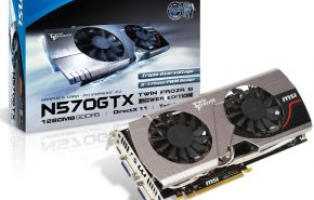 Nova placa de vídeo MSI GeForce GTX 680 Twin Forzr III