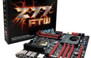 Placa Mãe EVGA FTW Z77 para Ivy Bridge
