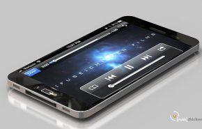 É este o novo iPhone 5 com acabamento de metal líquido?