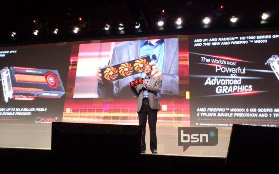 amd firepro w9000 teased bsn - AMD FirePro W9000 oferecerá 4 teraflops