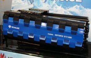 NVIDIA GTX 680 com refrigeração passiva da Colorful foi apresentada