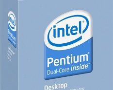Novo Intel Pentium Dual-Core E6300 de 45nm