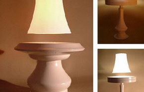 Empresa holandesa apresenta uma lâmpada que levita.