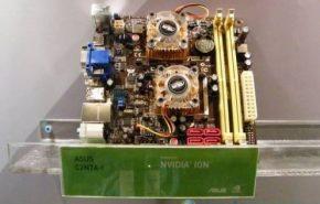 [Computex 2009] Asus mostra placa mãe baseado no Ion