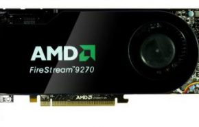 AMD FireStream 9270, com RV770 e 2 GB GDDR5.